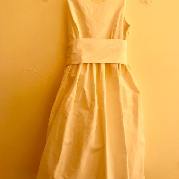 4b9b1e2c6f0 J. Crew Other - Silk J Crew Flower Girl Dress